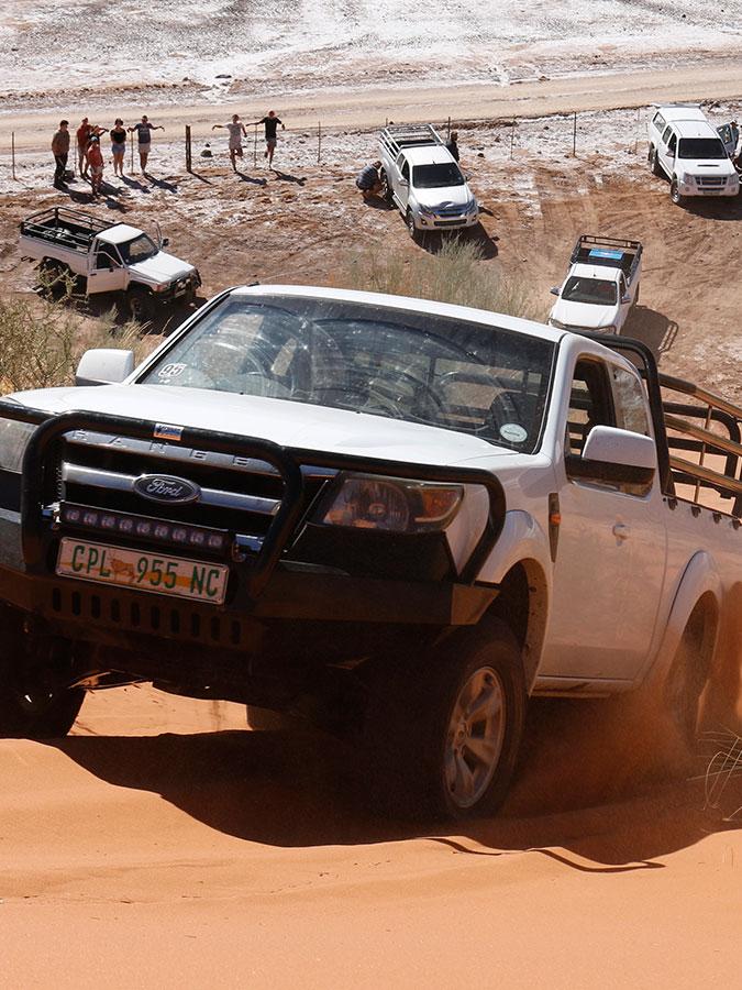 Kalahari Activities | Kalahari Goerapan | 4x4 Routes, Camping & Chalets
